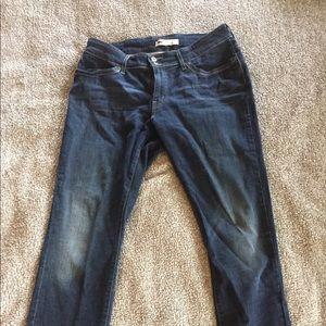 Levi's 529 skinny leg curvy jeans size 14